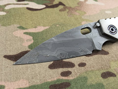 Duane Dwyer Zirconium & Damascus SMF Pike - Free Shipping