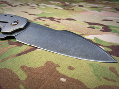 Tuff Knives One Off D2 Thundertuff - Free Shipping