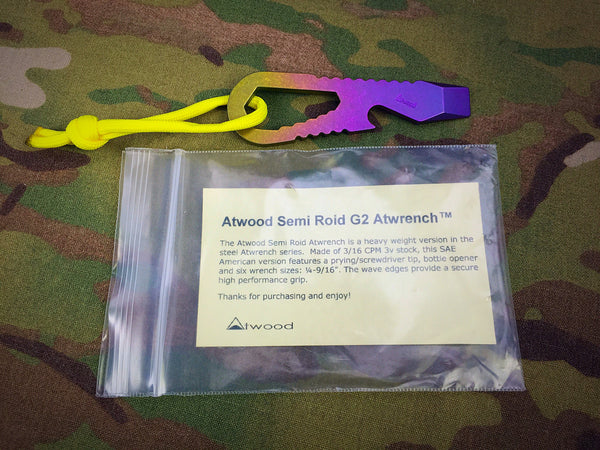 Atwood Semi Roid Titanium G2 Lefty Atwrench - Free Shipping