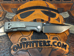 Chaves Redencion Ultramar Full Titanium PVD Finish Tanto - Free Shipping
