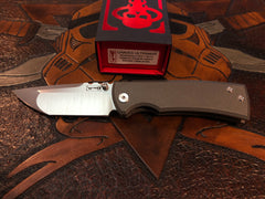 Chaves Redencion Ultramar Full Titanium Machine Finish Tanto - Free Shipping