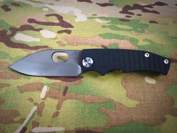 Medford Knife & Tool 187RMP Black G10 with Vulcan Blade - Free Shipping