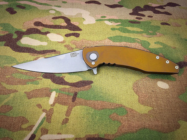 Fodale Knives Bronze Orion - Free Shipping
