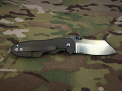 Red Horse Knives Full Titanium Chopper - Free Shipping