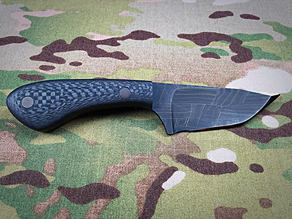 Jeremy Horton Damascus Fixed blade - Free Shipping