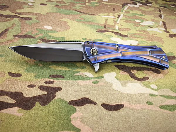 Anthony Marfione and Koji Hara Mirror Polished Titanium Closer - Free Shipping