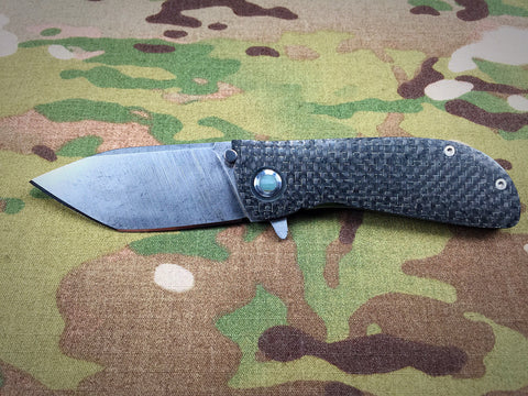 Dark Earth Tactical Jade Gemstone Hundo Lite flipper - Free Shipping