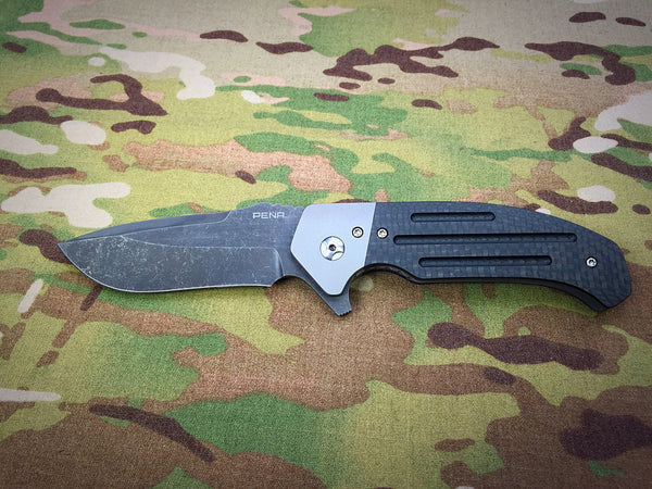 Enrique Pena Custom Knives Dirty Diesel 1 - Free Shipping