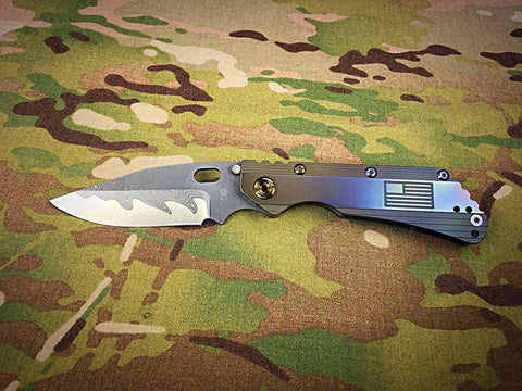 DDC San Mai Damascus SMF Bowie - Free Shipping