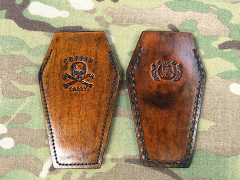 Harp Leather EDC Coffin Sheath - Free Shipping