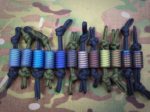 Dark Earth Tactical Titanium Beads - Free Shipping