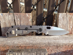Strider SnG Stonewashed S110V 3/4 grind spear point - Free Shipping