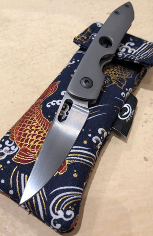 Foster So Cal Knives LA with Timascus