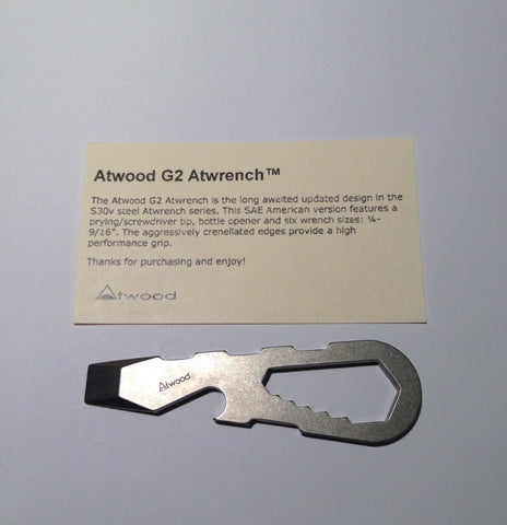 Atwood G2 Atwrench - Free Shipping