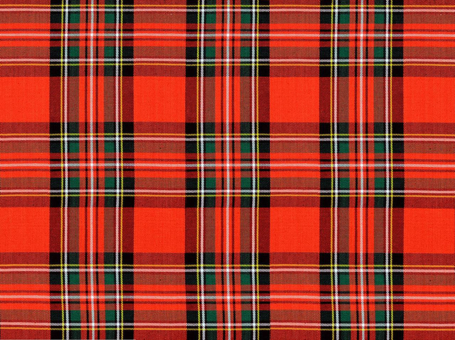Covington Anctient Stewart Red Plaid Tartan Farbic - Fabric Headquarters