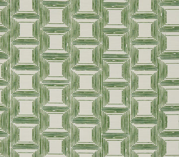Fabricut Klein Square Kelly Green Fabric - Fabric Headquarters