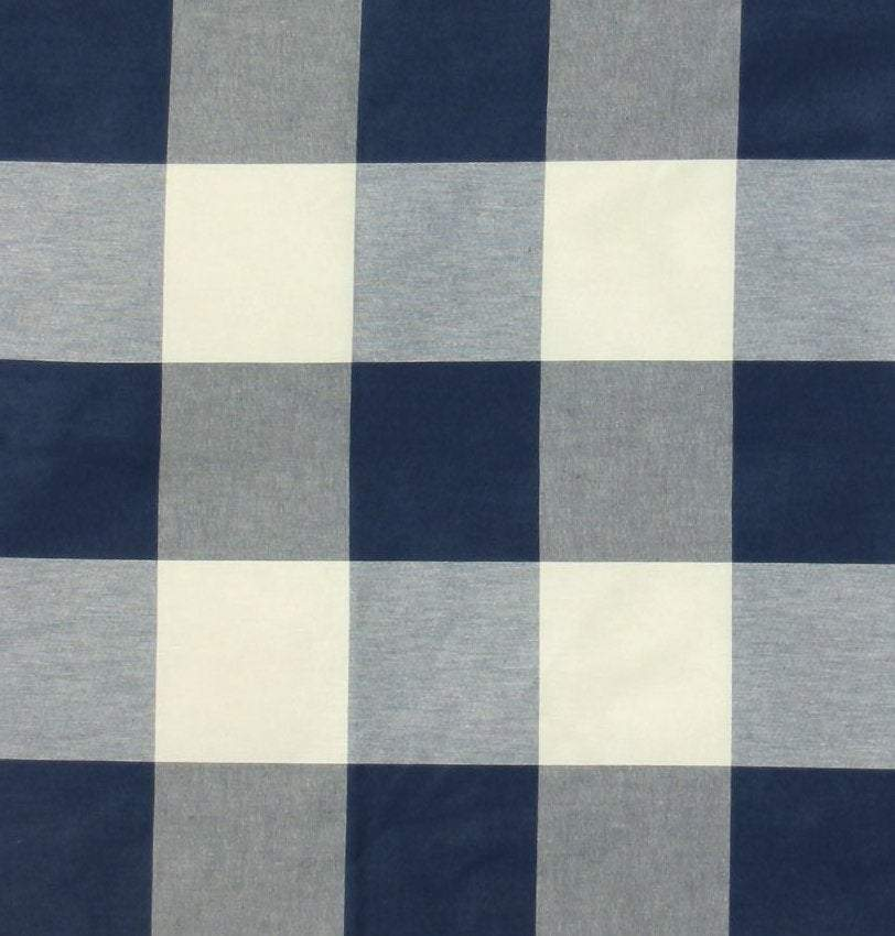 P/Kaufmann Call Me Navy Blue Plaid Fabric - Fabric Headquarters