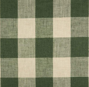 P/Kaufmann New Check Please Kale Green Woven Fabric - Fabric Headquarters