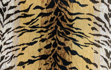 PKaufmann Tiago Natural Tiger Print Fabric - Fabric Headquarters