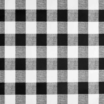 Premier Prints Anderson Black Buffalo Check Fabric - Fabric Headquarters