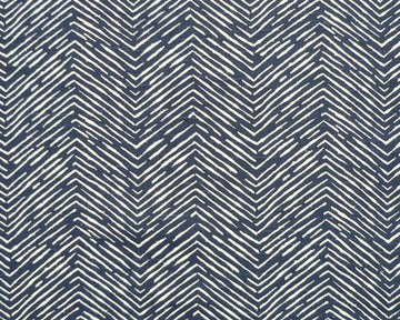 Premier Prints Cameron Slub Navy Herringbone Fabric - Fabric Headquarters