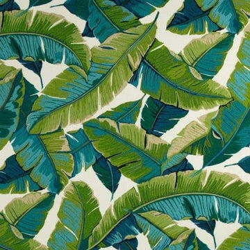 Richloom Balmoral Opal Banana Leaf Outdoor Fabric - Fabric Headquarters