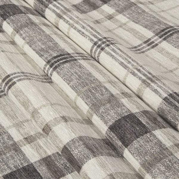 Richloom Lawson Velvet Plaid Moonlight Fabric - Fabric Headquarters
