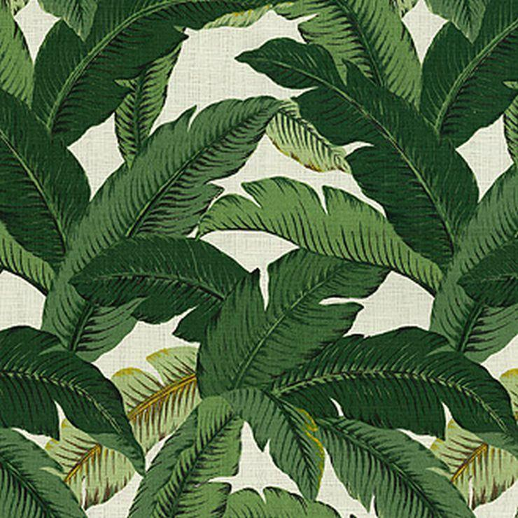 Tommy Bahama Swaying Palms Aloe Linen Fabric - Fabric Headquarters