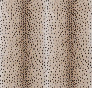 Vern Yip Classic Black Fawn Antelope Linen Fabric 04242 - Fabric Headquarters