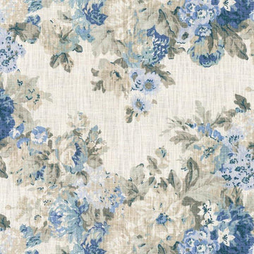 Waverly Juliet Bluebell Floral Cotton Derby Fabric - Fabric Headquarters