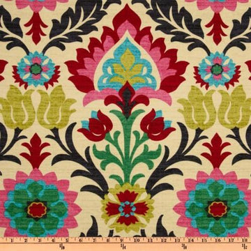 Waverly Santa Maria Desert Flower Floral Damask Fabric - Fabric Headquarters