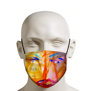 dk Abstraction Introspection Face Mask