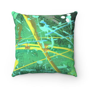 DKNG Faux Suede Square Pillow 1