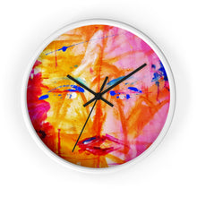 Load image into Gallery viewer, dk Abstraction Introspection Wall clock 1A