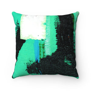 URBAN GARDEN Faux Suede Square Pillow