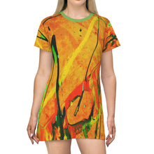 Load image into Gallery viewer, DKNG All Over Print T-Shirt Dress 2