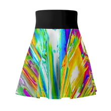 Load image into Gallery viewer, dk SUMMER RAIN Skater Skirt