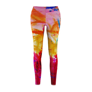 dk Abstraction Introspection Cut & Sew Casual Leggings