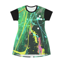 Load image into Gallery viewer, DKNG All Over Print T-Shirt Dress 1