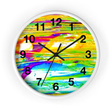 Load image into Gallery viewer, dk SUMMER RAIN Wall Clock