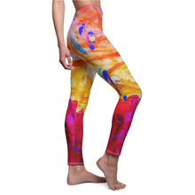 Load image into Gallery viewer, dk Abstraction Introspection Cut & Sew Casual Leggings