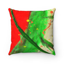 Load image into Gallery viewer, DKNG Faux Suede Square Pillow 3