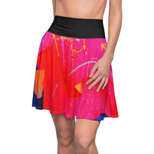 Load image into Gallery viewer, dk Vertical Pool: The Queen City at Sunset Skater Skirt