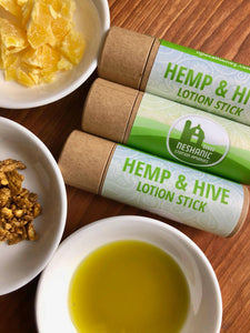 Hemp & Hive Lotion Stick