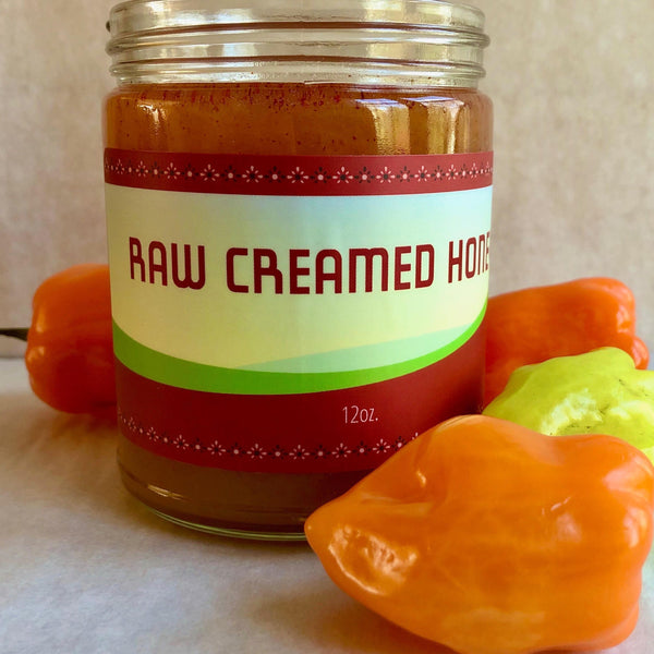 Raw Habanero Honey (12 oz.)