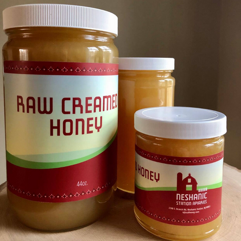 Somerset/Hunterdon Raw Creamed Wildflower Honey (1 Lb.)