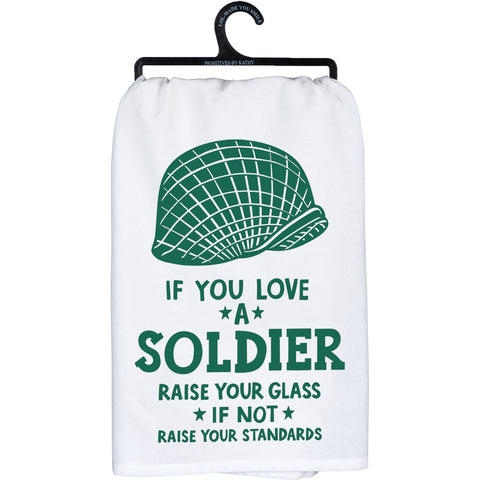 Dish Towel - Love A Soldier