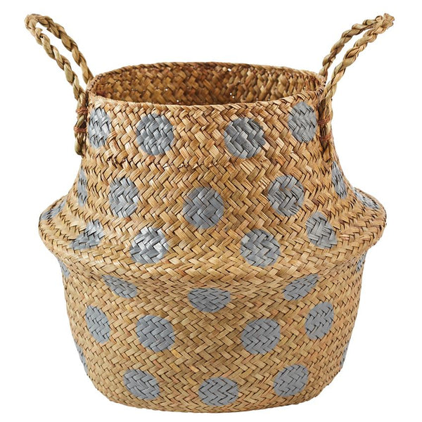 Seagrass Basket Set in Ivory or Gray