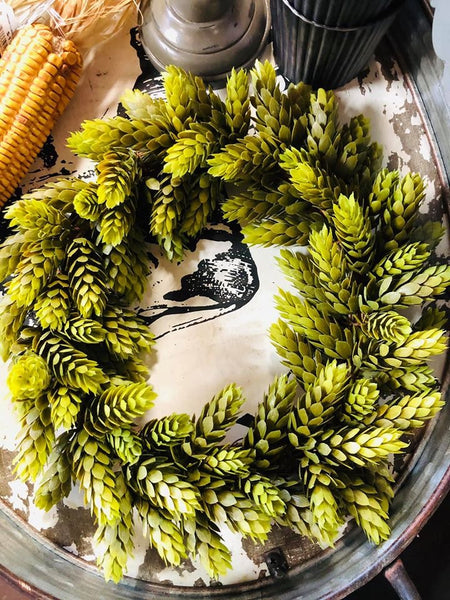 Harvest Sage Hops Wreath/Ring