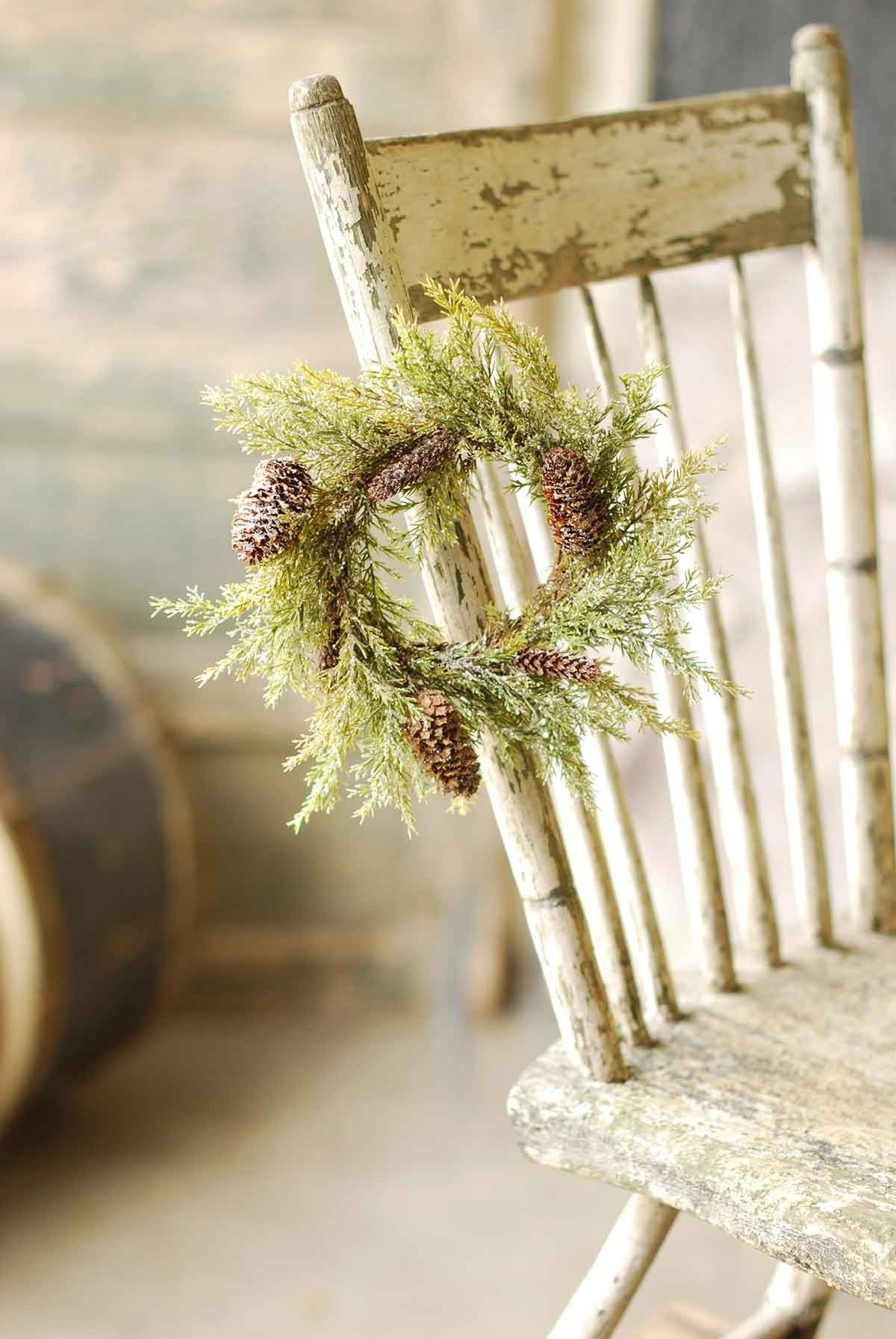 PRICKLY PINE RING 9"
